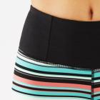 Manduka Essential Capri Legging Jade Variegated Stripe