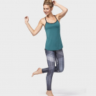 Manduka Geo Checkered Legging Black Multi