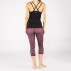 Tříčtvrteční legíny  Manduka Essential Capri Legging Adaptation Print