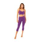 Mandala Knee Length Tights Purple