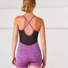 Jednodílný komplet Manduka Hot Yoga Uni Orchid Melange