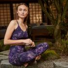 Dlouhé legíny Mandala Join the Class Legging Night Shift