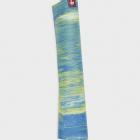 Cestovní jogamatka Manduka eKO SuperLite® Travel Mat Digi Lime Marbled