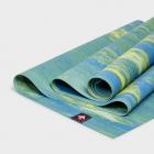 Manduka eKO SuperLite® Travel Mat Digi Lime Marbled