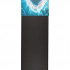 Malý jógový ručník Manduka eQua® Hand Towel Eclipse Dye Caribbean