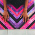 Yoga Design Lab Travel Mat Chevron Maya
