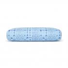 Polštář na jógu Manduka Enlight™ Rectangular Bolster Star Dye Clear Blue