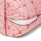 Polštář na jógu Manduka Enlight™ Round Bolster Star Dye Coral