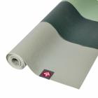 Cestovní jogamatka Manduka eKO SuperLite® Travel Mat Green Ash Stripe
