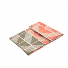 Velký jógový ručník Manduka eQua® Mat Towel HD Handloom Gray - limitovaná edice