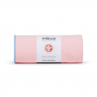 Velký jógový ručník Manduka eQua® Mat Towel Coral