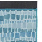 Velký jógový ručník Manduka eQua® Mat Towel Patina Squares HD