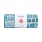 Manduka eQua® Mat Towel Patina Squares HD