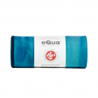 Velký jógový ručník Manduka eQua® Mat Towel Hand Dye Pacific Blue