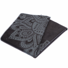 Yoga Design Lab Mat Towel Mandala Black