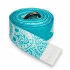 Pásek na jógu Yoga Design Lab Strap Mandala Turquoise