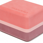 Manduka Mini Travel Foam Block Clay