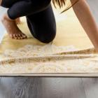 Yoga Design Lab Mat Towel Mandala Gold
