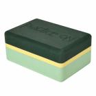 Bloček na jógu Manduka Foam Block Green Ash