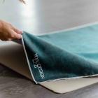 Yoga Design Lab Mat Towel Aegean Green