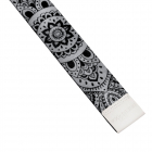 Pásek na jógu Yoga Design Lab Strap Mandala Black