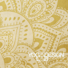 Yoga Design Lab Combo Mat Mandala Gold