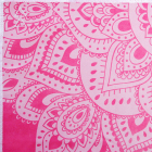 Yoga Design Lab Mat Towel Mandala Rose