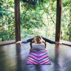 Yoga Design Lab Mat Towel Chevron Maya