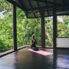 Ručník na jógu Yoga Design Lab Mat Towel Mandala Rose